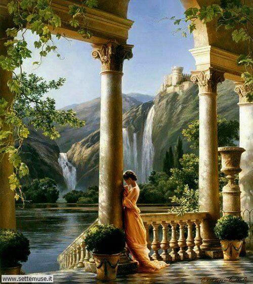 arte e dipinti su foto-romanticismo foto-romanticismo-Michael Satarov