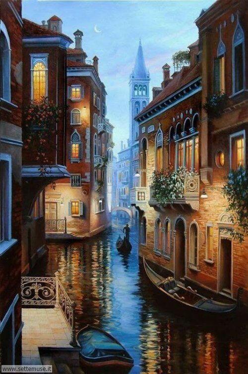arte e dipinti su foto VENEZIA 01