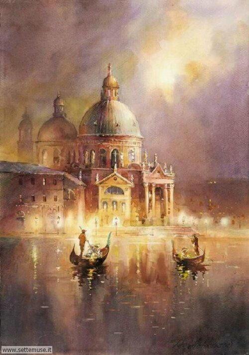 arte e dipinti su foto VENEZIA 04
