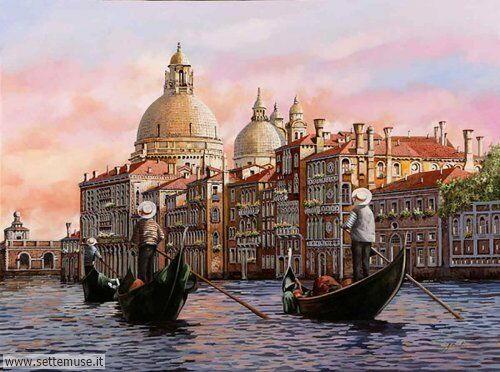 arte e dipinti su foto Guido Borelli