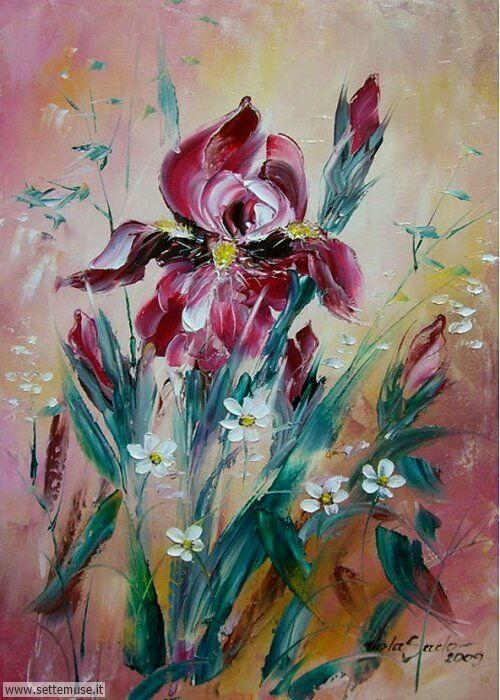 arte e dipinti su fiori di Viola Sado 10