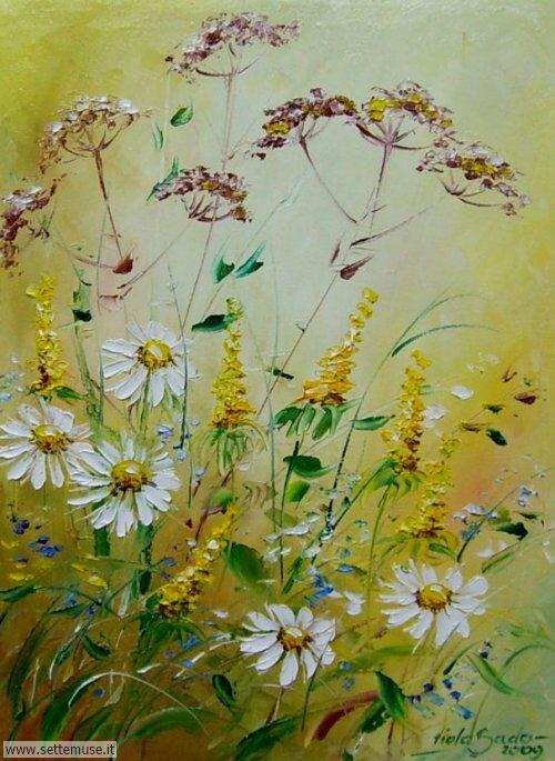arte e dipinti su fiori di Viola Sado 13