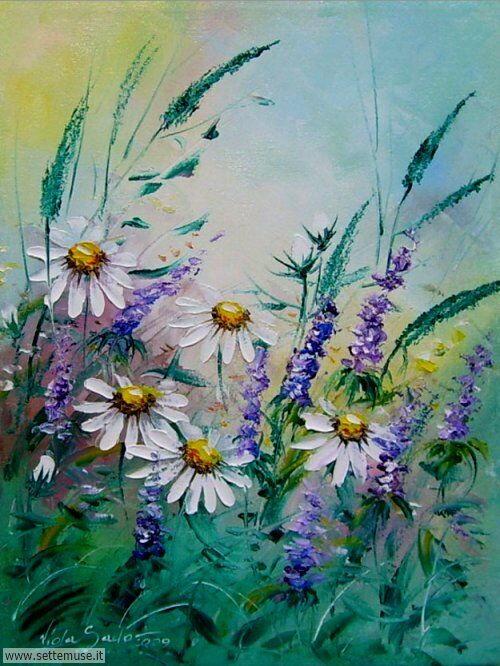 arte e dipinti su fiori di Viola Sado 16