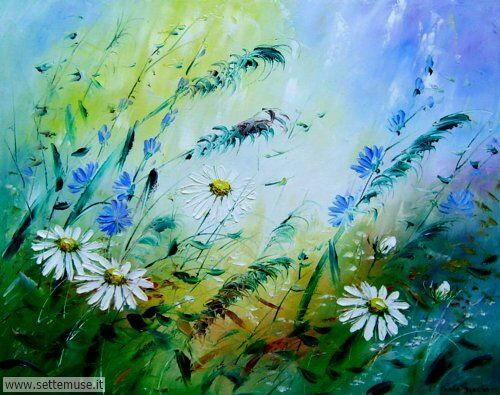 arte e dipinti su fiori di Viola Sado 19