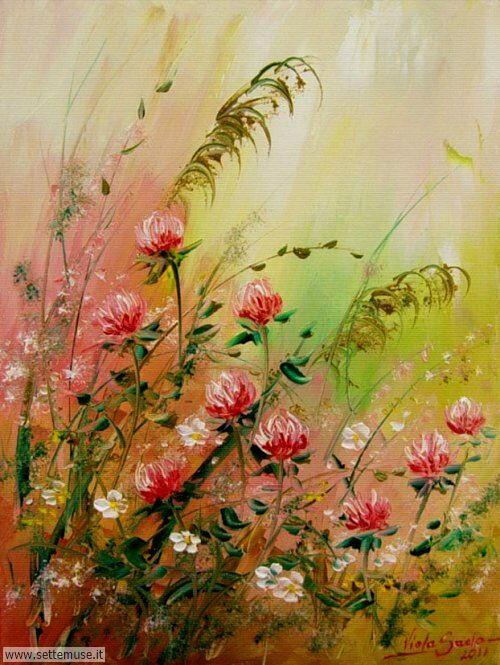 arte e dipinti su fiori di Viola Sado 22