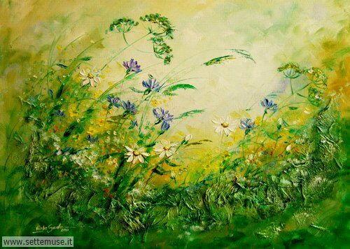 arte e dipinti su fiori di Viola Sado 23