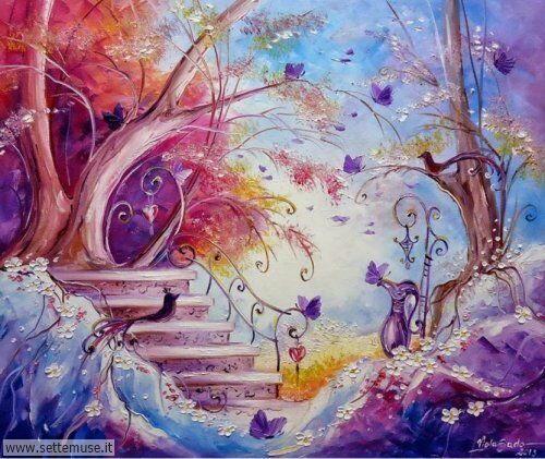 arte e dipinti su fiori di Viola Sado 27