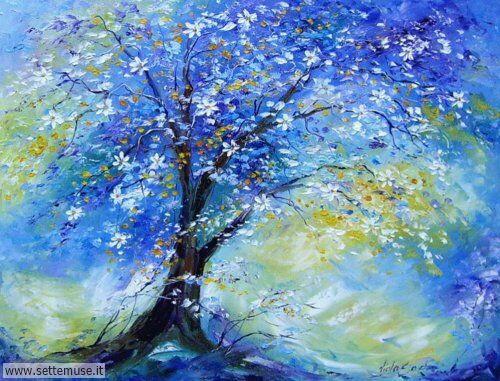 arte e dipinti su fiori di Viola Sado 29