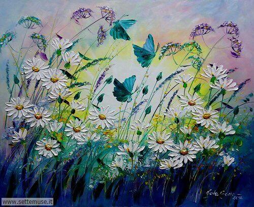 arte e dipinti su fiori di Viola Sado 03