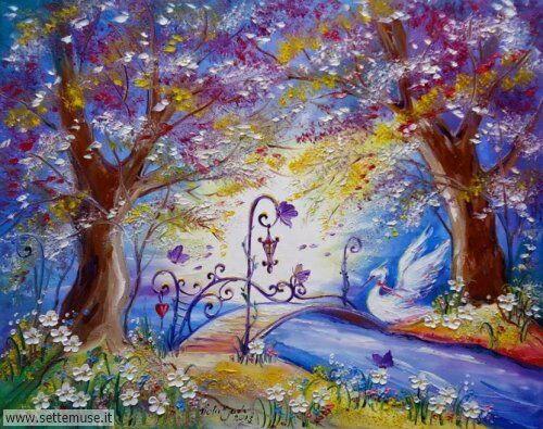 arte e dipinti su fiori di Viola Sado 39