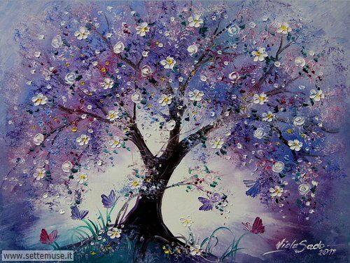 arte e dipinti su fiori di Viola Sado 04