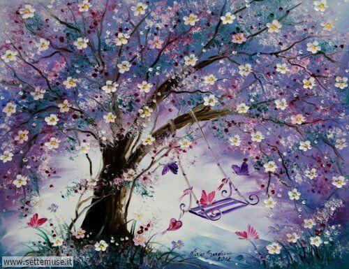arte e dipinti su fiori di Viola Sado 05