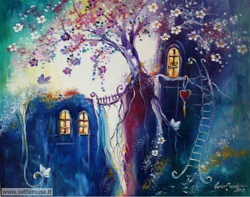arte e dipinti su fiori di Viola Sado 68