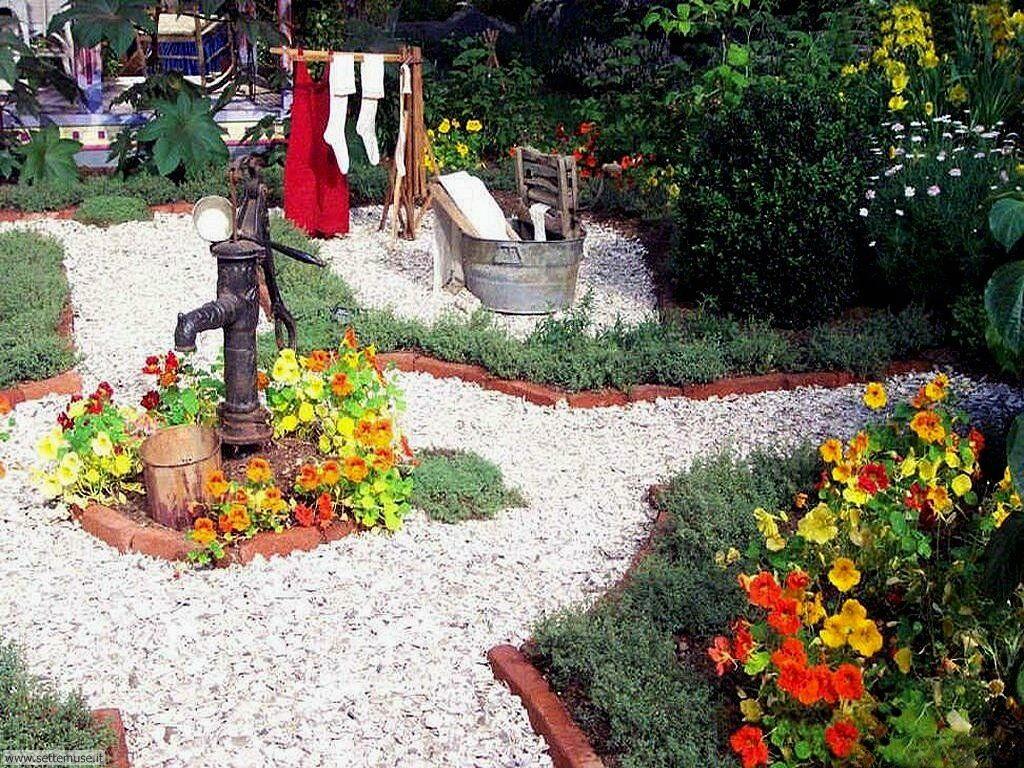 Foto giardini per sfondi for Cespugli fioriti da giardino
