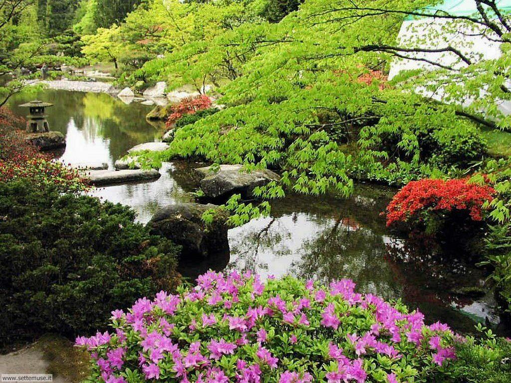 foto di giardini per sfondi