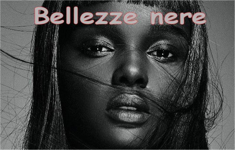 foto di bellezze dalla pelle nera
