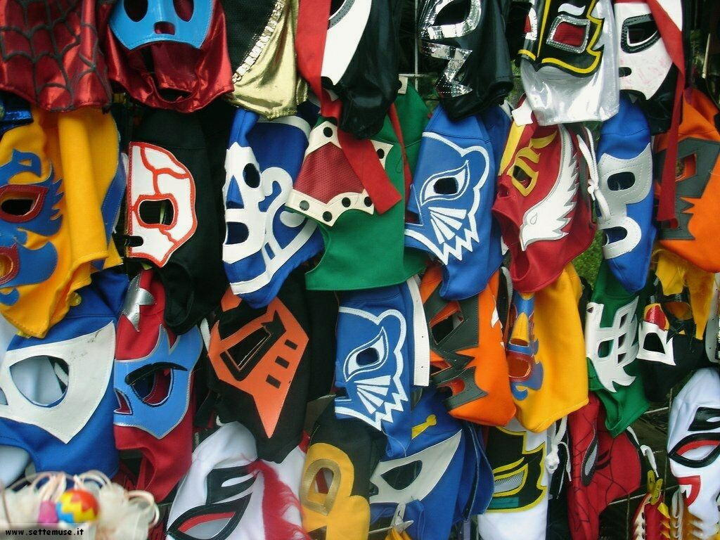foto di maschere del carnevale per sfondi