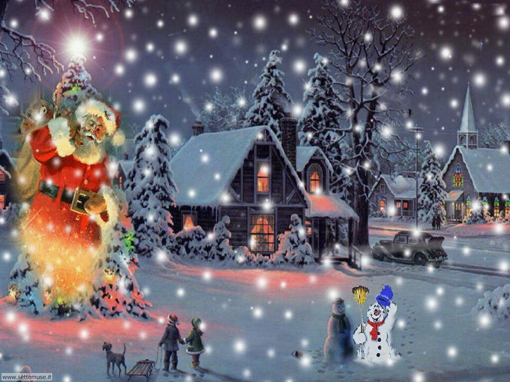 Sfondi Gratis Natalizi.Foto Feste Natale Per Sfondi Settemuse It