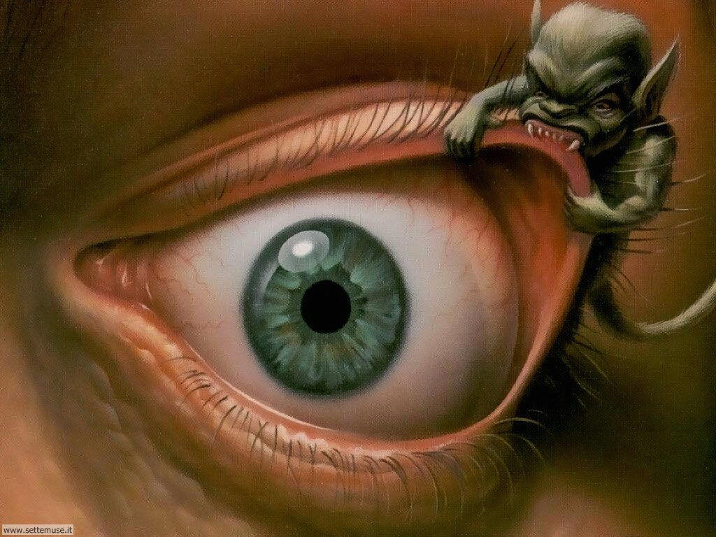 foto di grandi occhi per sfondi 7