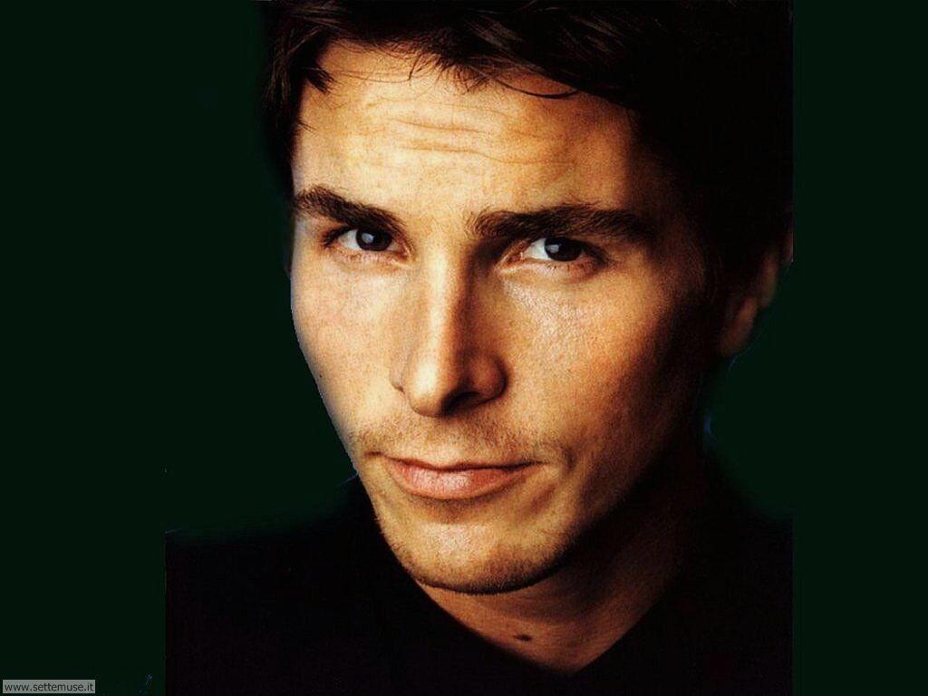 foto attori per sfondi Christian Bale