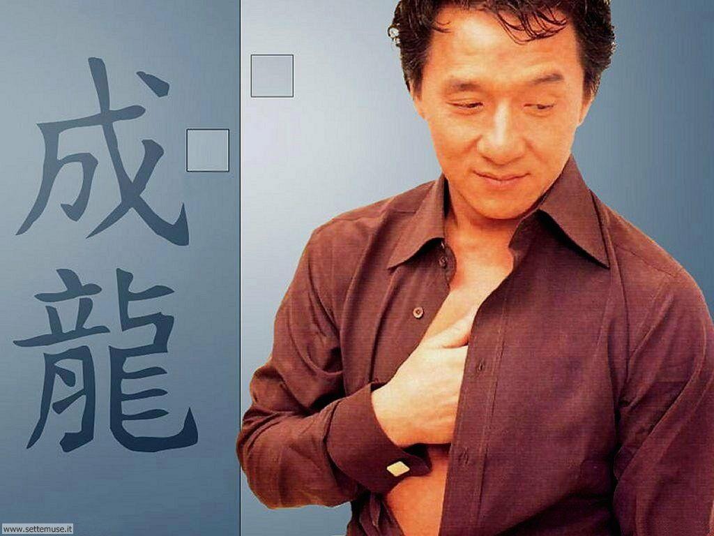 foto attori per sfondi Jackie Chan