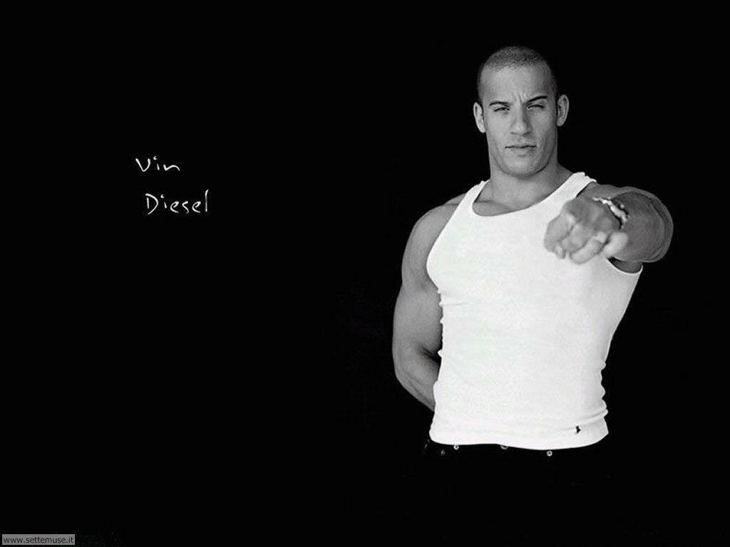 foto attori per sfondi Vin Diesel
