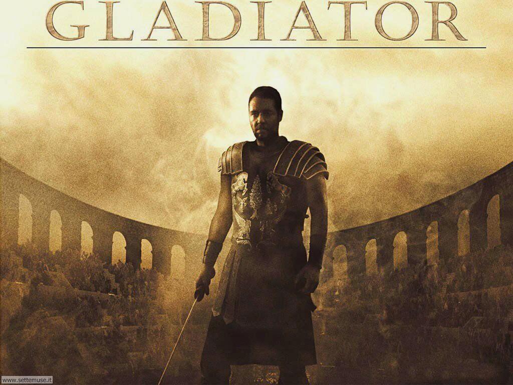 foto film famosi per sfondi il gladiatore