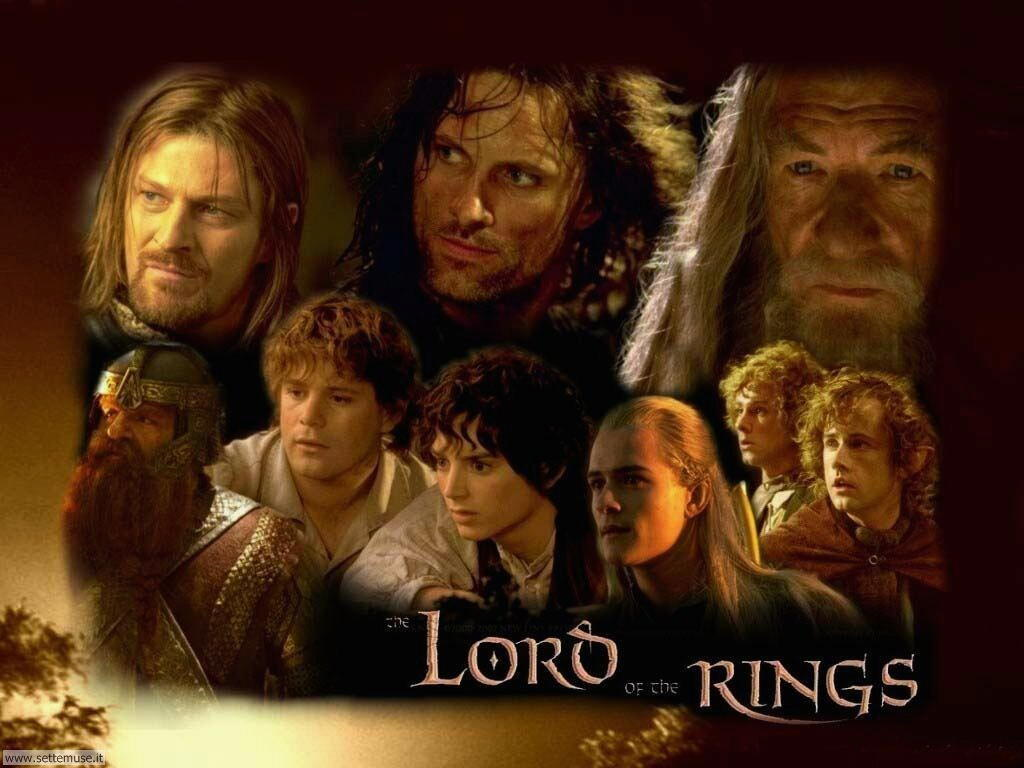 foto film famosi per sfondi lord of rings