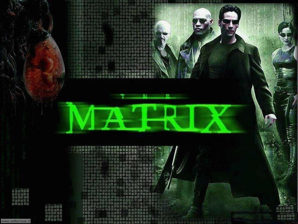 foto film famosi per sfondi matrix