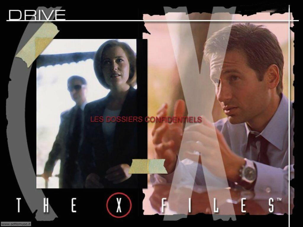 foto film famosi per sfondi the x files
