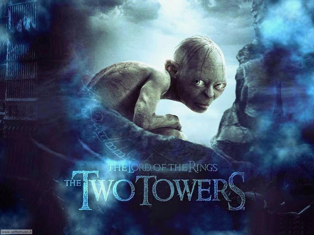 foto film famosi per sfondi two towers