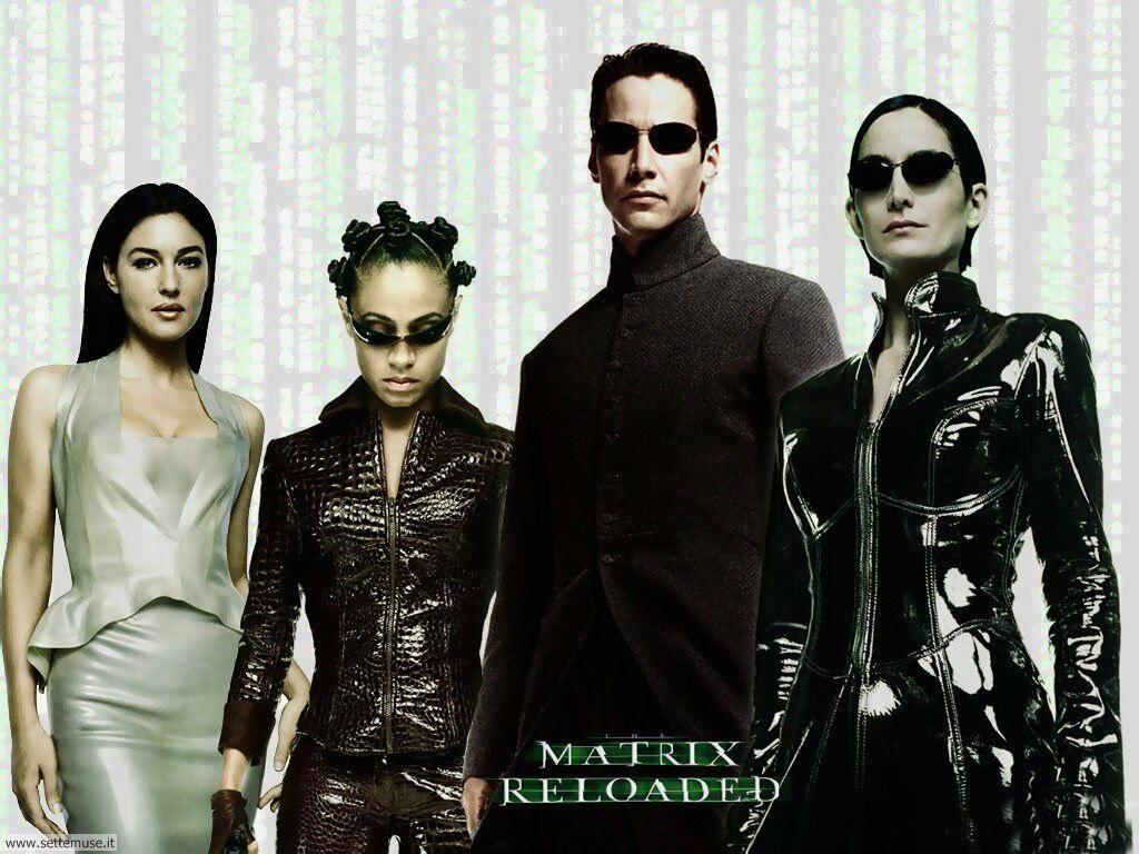 foto film famosi per sfondi matrix 2