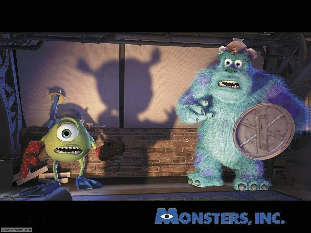 foto film famosi per sfondi monster inc