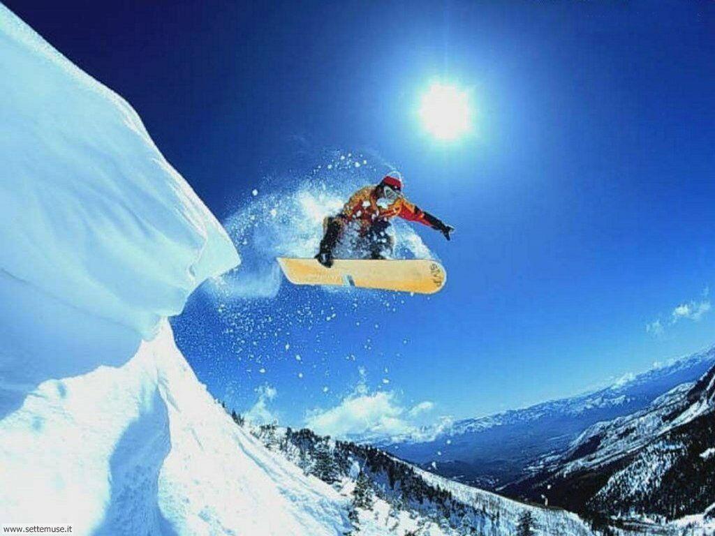 foto di sport invernali per sfondi