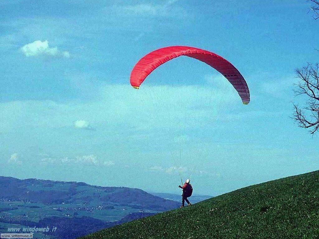 foto di volo sportivo volo aereo deltaplano per sfondi 8