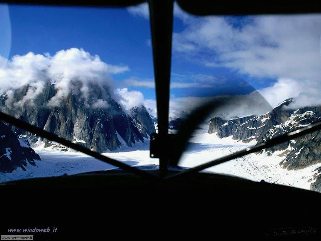 foto di volo sportivo volo aereo deltaplano per sfondi 15