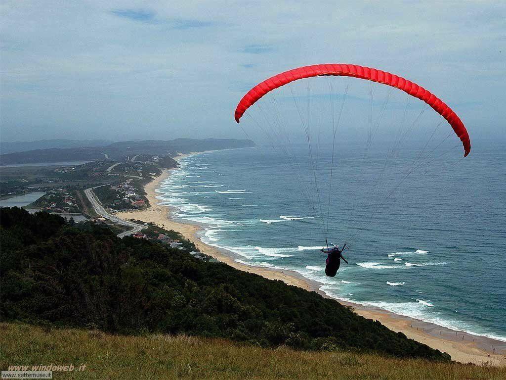 foto di volo sportivo volo aereo deltaplano per sfondi 23
