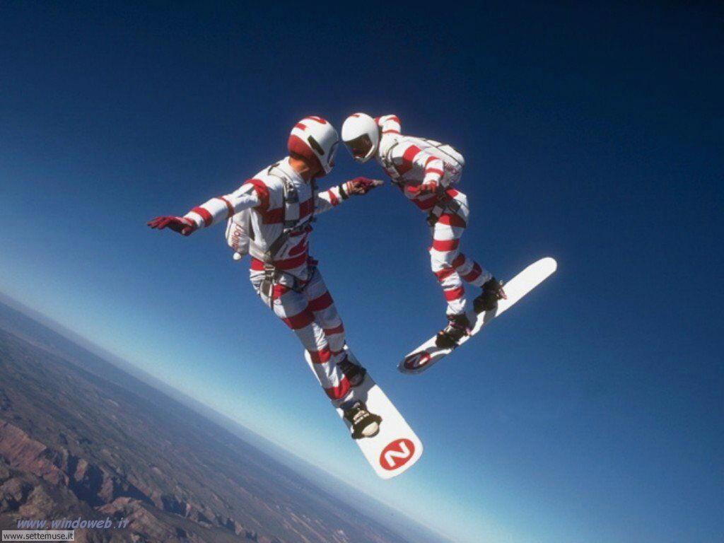 foto di volo sportivo volo aereo deltaplano per sfondi 44