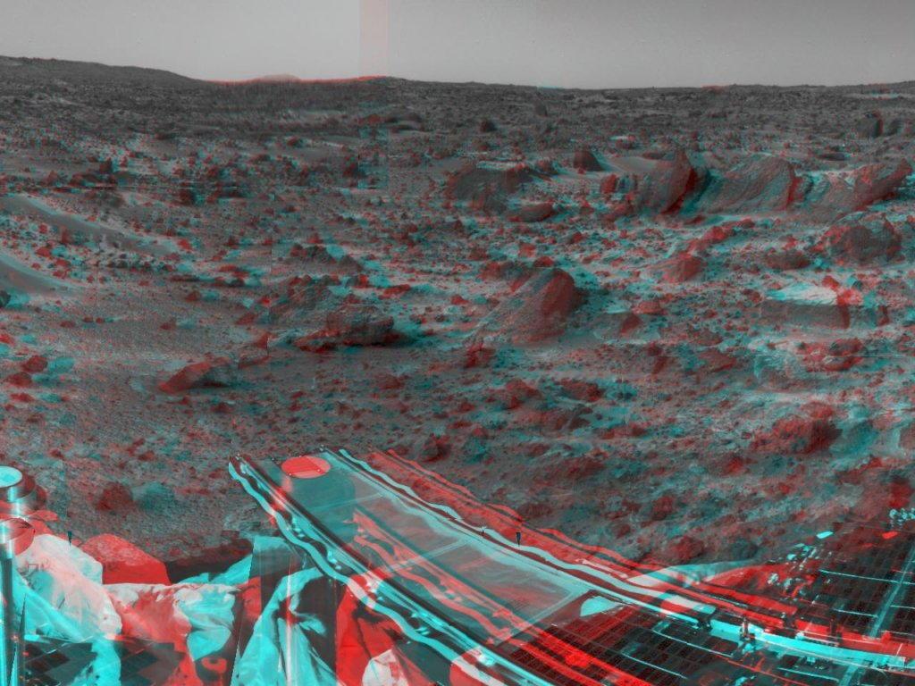 Sfondi desktop foto di Marte in 3D (usare gli occhiali bicolore) 001