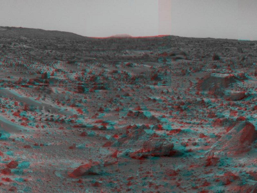 Sfondi desktop foto di Marte in 3D (usare gli occhiali bicolore) 002