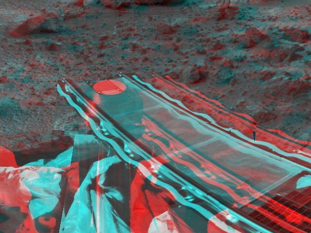 foto di Marte 3D per sfondi