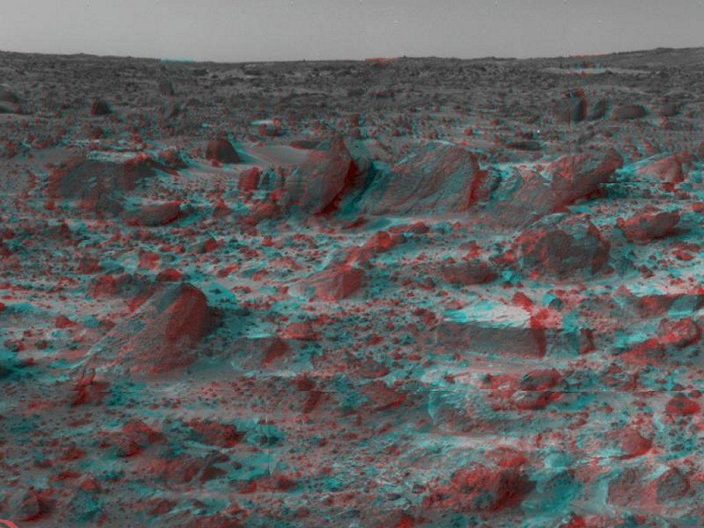 Sfondi desktop foto di Marte in 3D (usare gli occhiali bicolore) 004