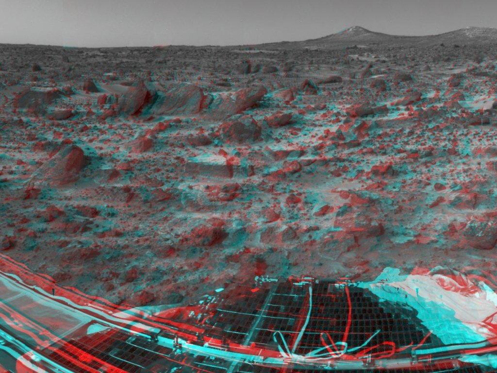 Sfondi desktop foto di Marte in 3D (usare gli occhiali bicolore) 005