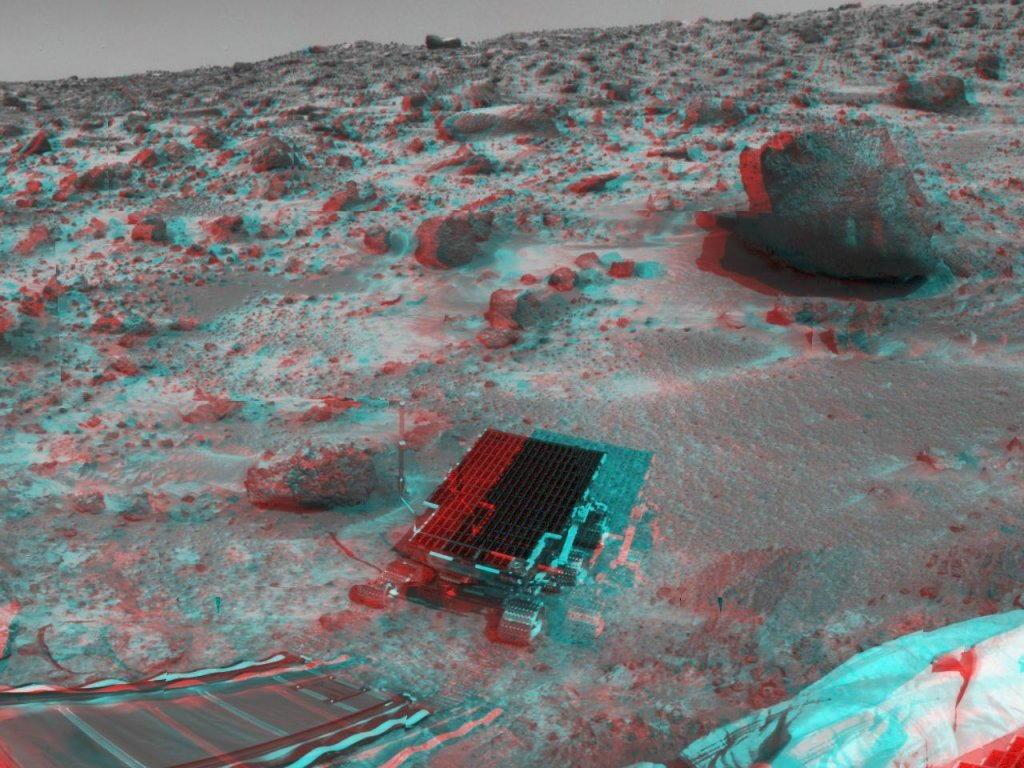 Sfondi desktop foto di Marte in 3D (usare gli occhiali bicolore) 010