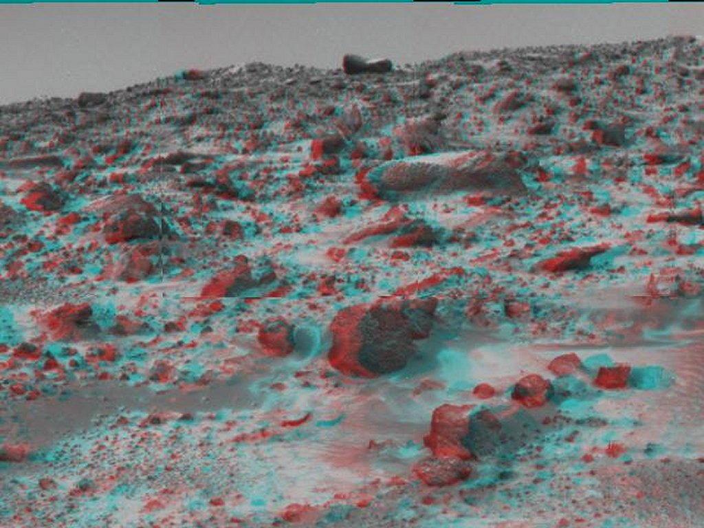 Sfondi desktop foto di Marte in 3D (usare gli occhiali bicolore) 012