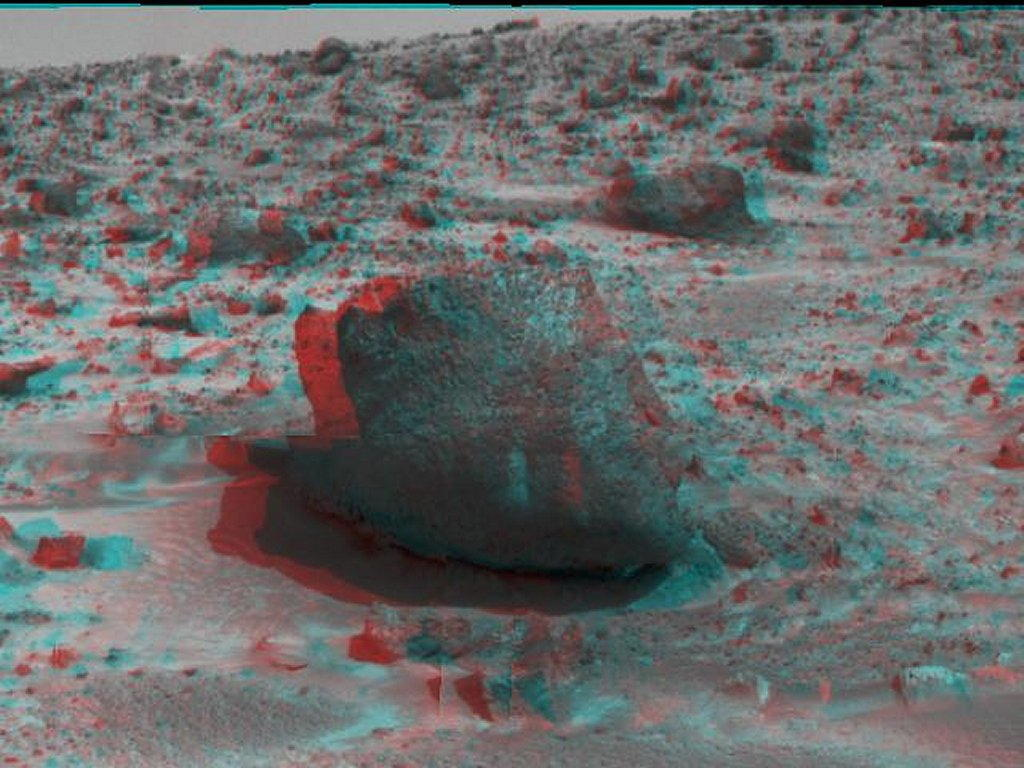 Sfondi desktop foto di Marte in 3D (usare gli occhiali bicolore) 013