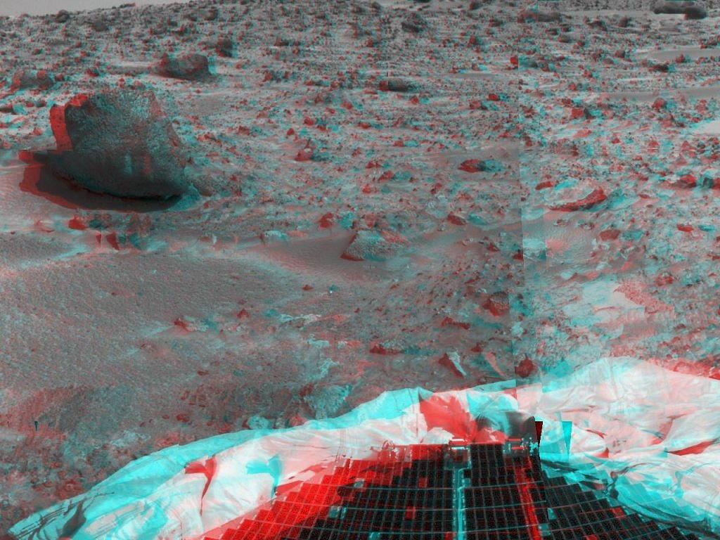 Sfondi desktop foto di Marte in 3D (usare gli occhiali bicolore) 014