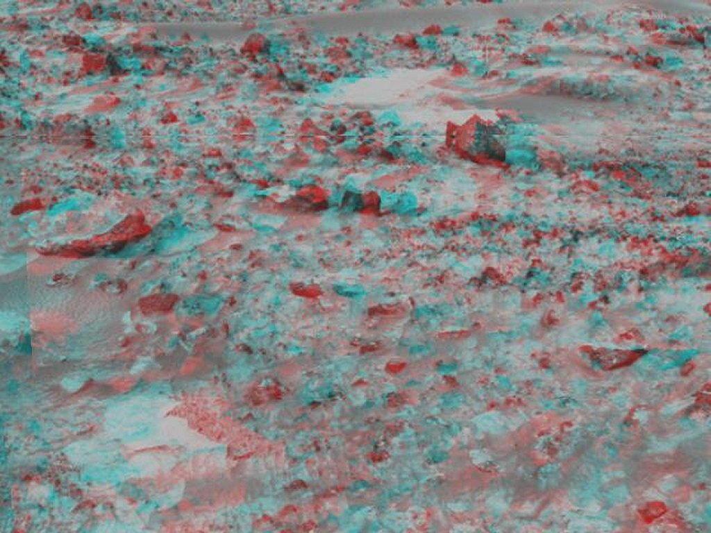 Sfondi desktop foto di Marte in 3D (usare gli occhiali bicolore) 015