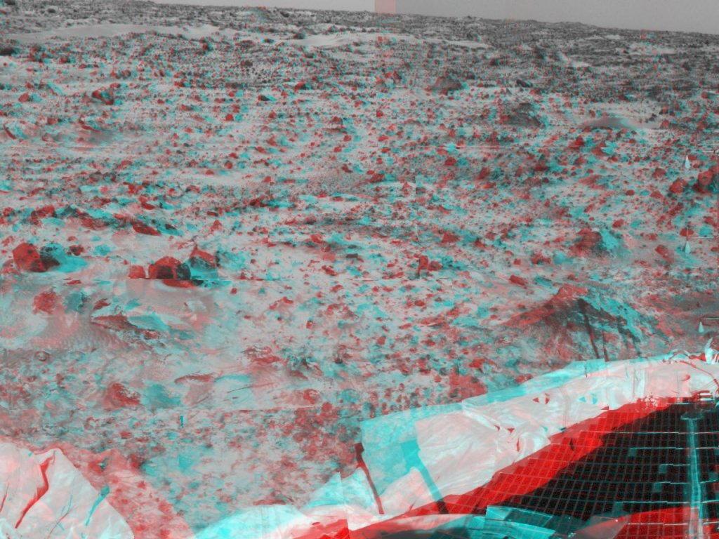Sfondi desktop foto di Marte in 3D (usare gli occhiali bicolore) 018