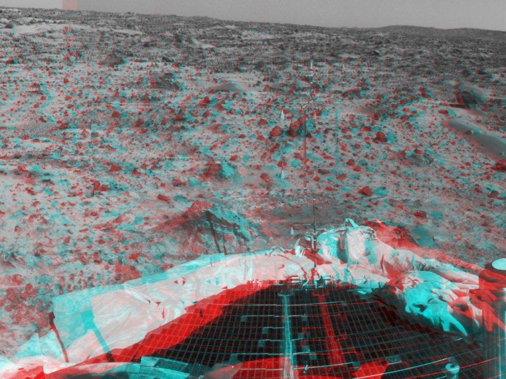 Sfondi desktop foto di Marte in 3D (usare gli occhiali bicolore) 019